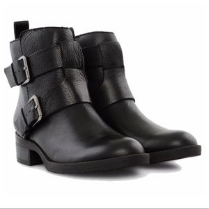 Kennith Cole Reaction POD PLACE Black Ankle Boots